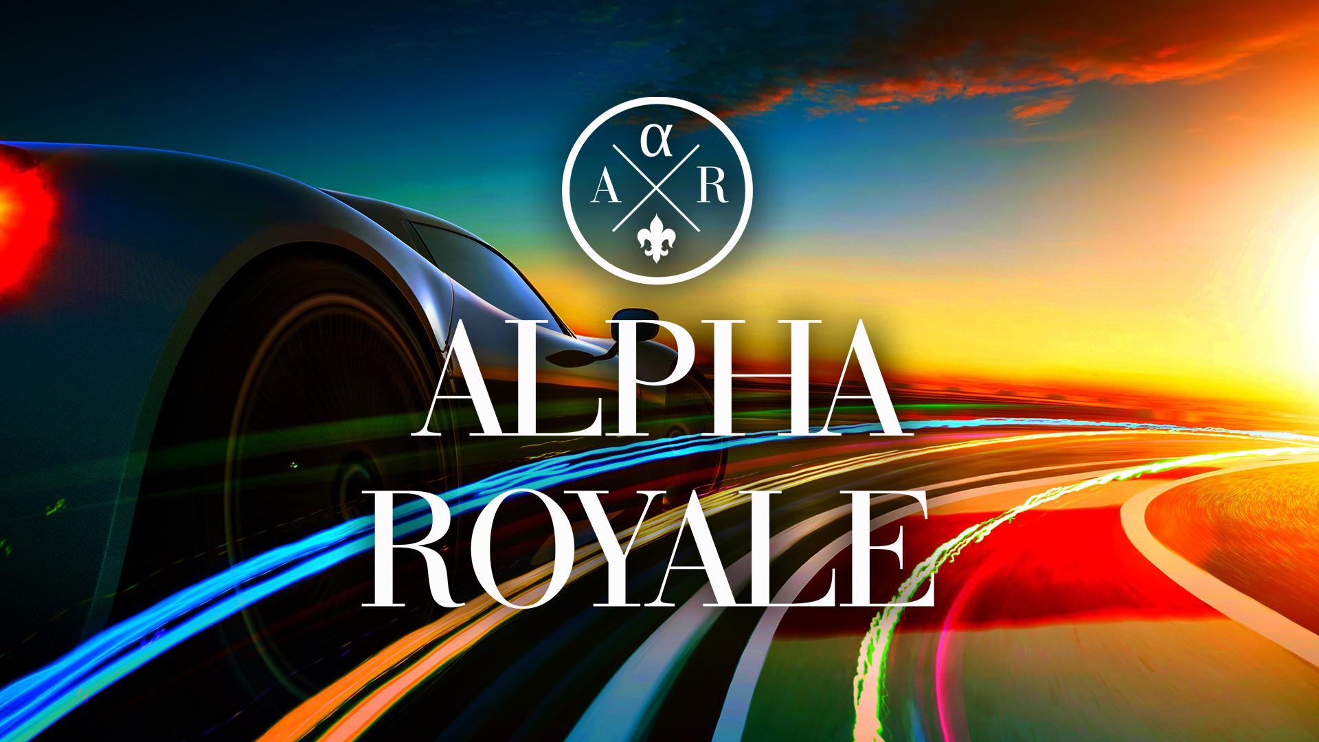 Web banner - Alpha Royale 2020